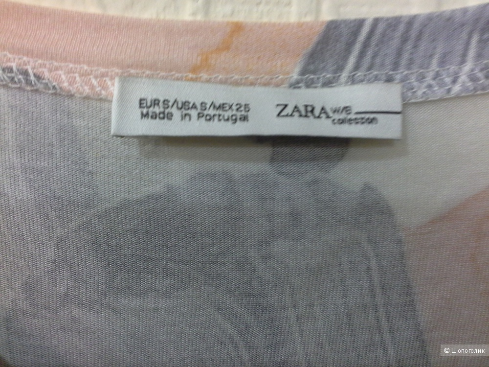 Футболка  Zara,  размер  one size.