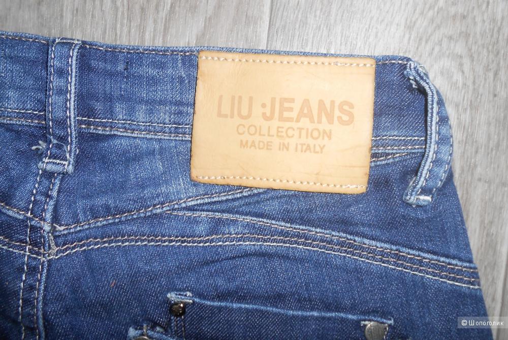 Бермуды джинсовые LIU JO, размер 42 IT