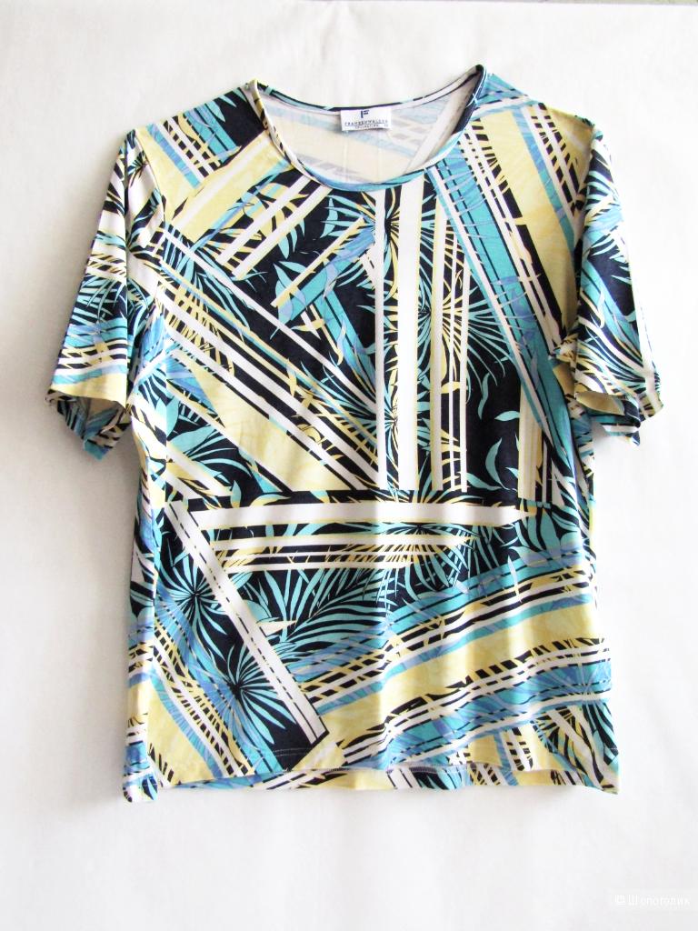 Легкий джемпер (футболка)  Frank  Walder  размер 46/48