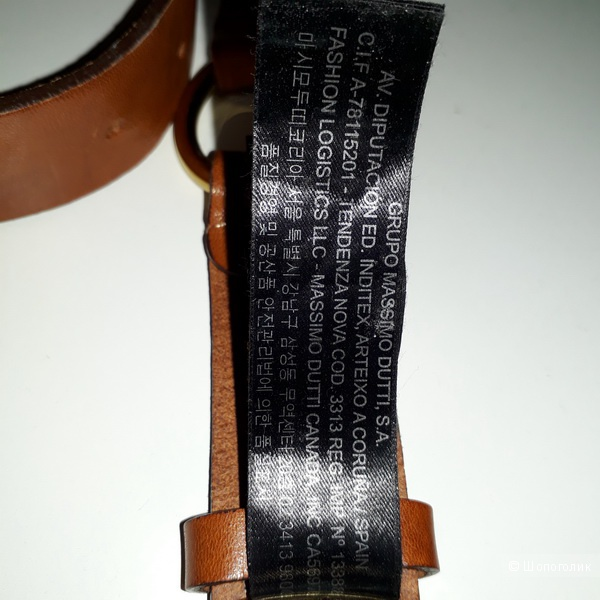 Ремень  Massimo Dutti,  размер 70