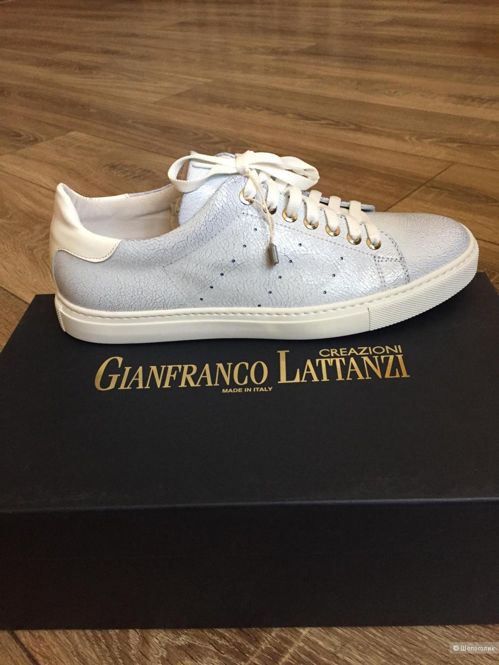Кроссовки  GIANFRANCO LATTANZI,размер 38(Европейский)