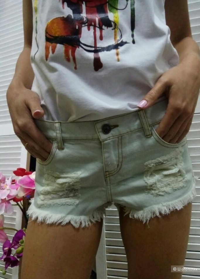Dolce gabbana шорты джинсовые 44