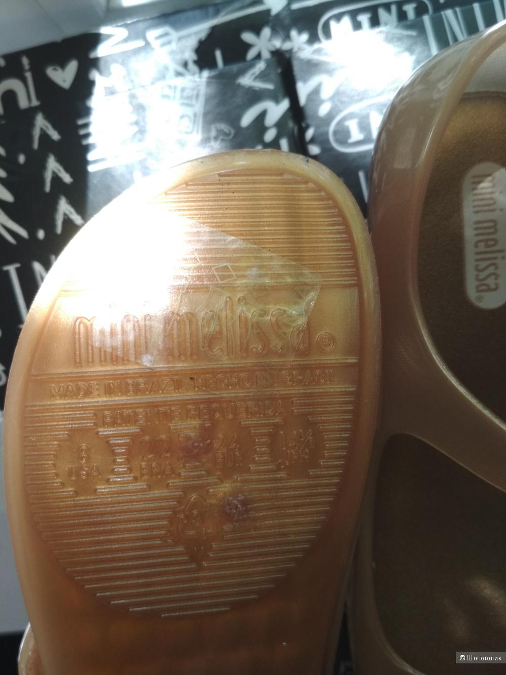 Туфли mini Melissa, 24 размер