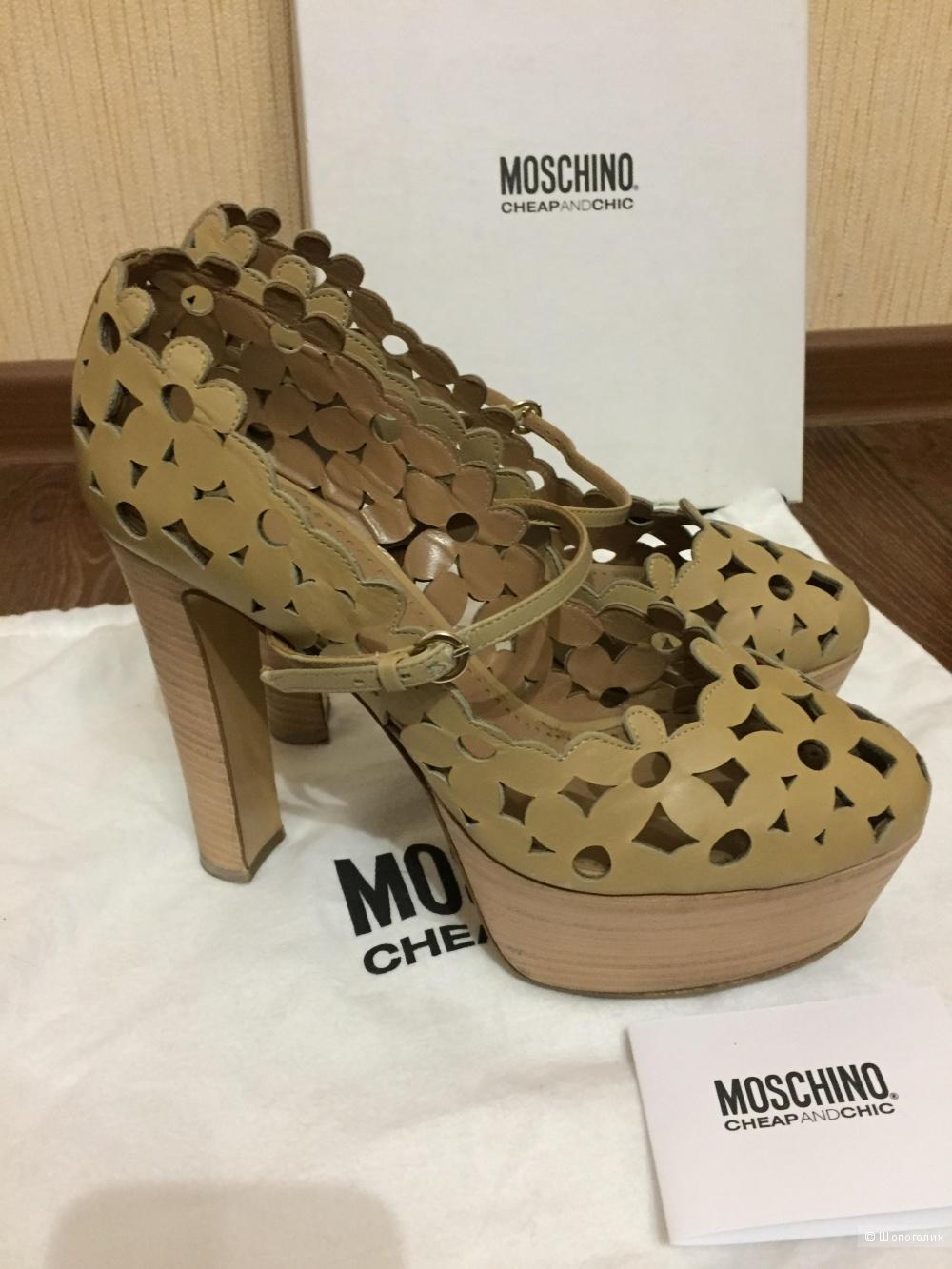 Туфли Moschino Cheapandchic, 38,5 размер