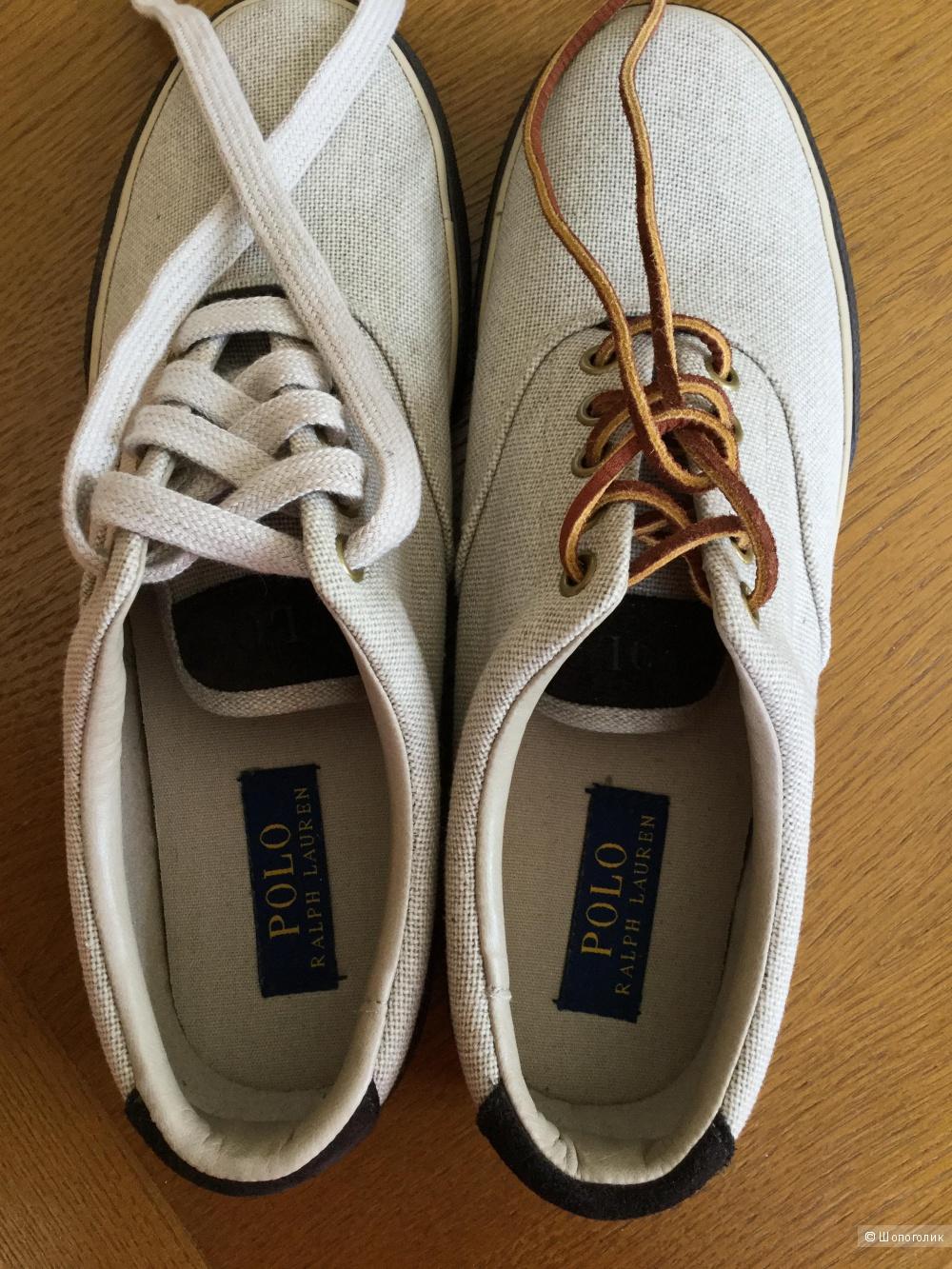 Мужские кеды  Polo Ralph Lauren,размер 8,5D (41-41,5)