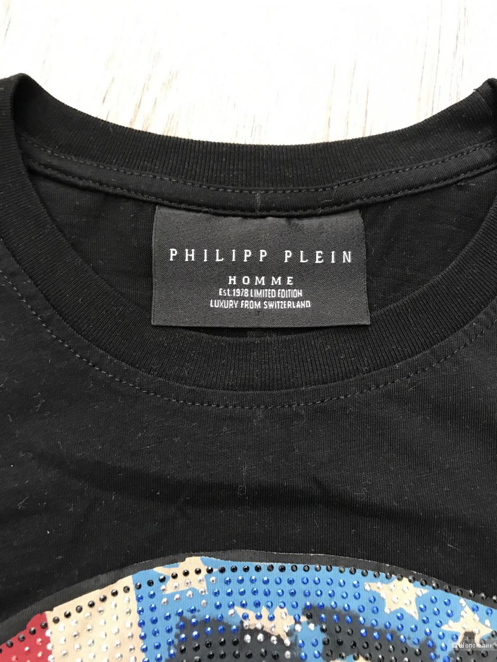 Футболка мужская Philipp Plein, размер М — L.