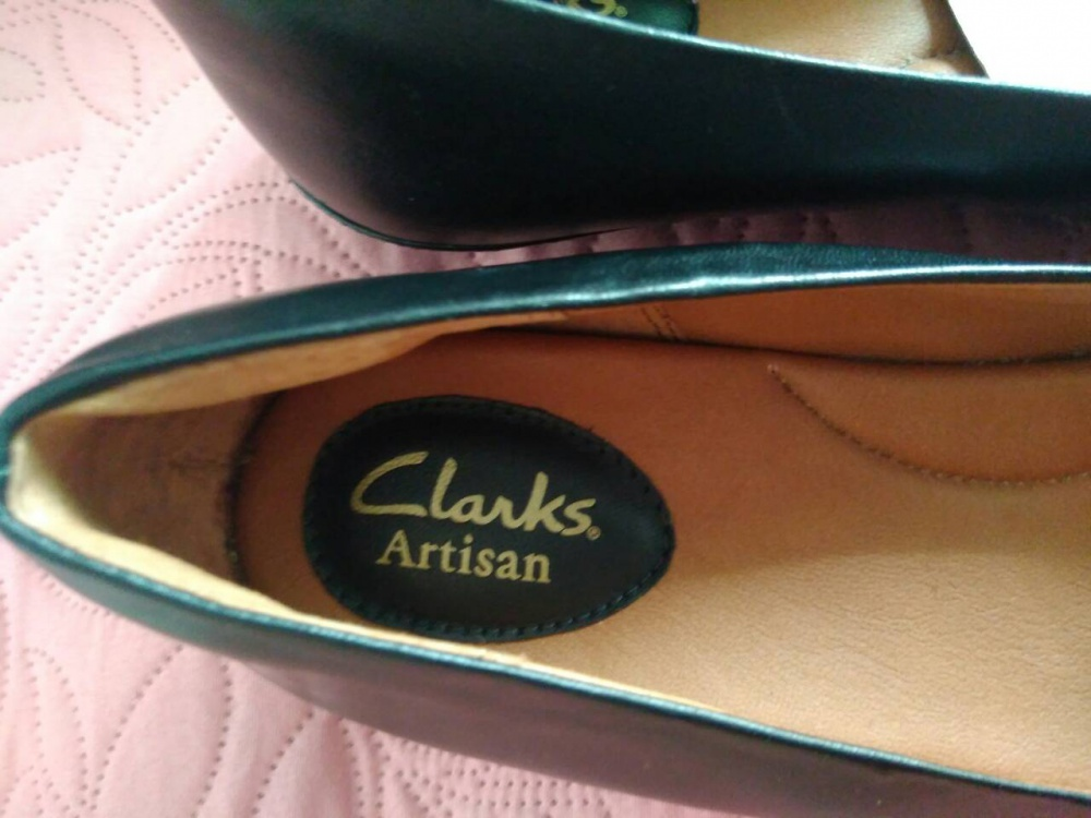 Туфли женские Clarks, p.8,5