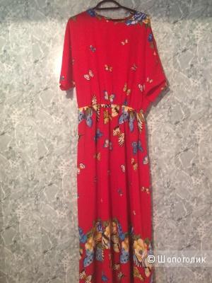 Винтажное платье no name 48-52 размер