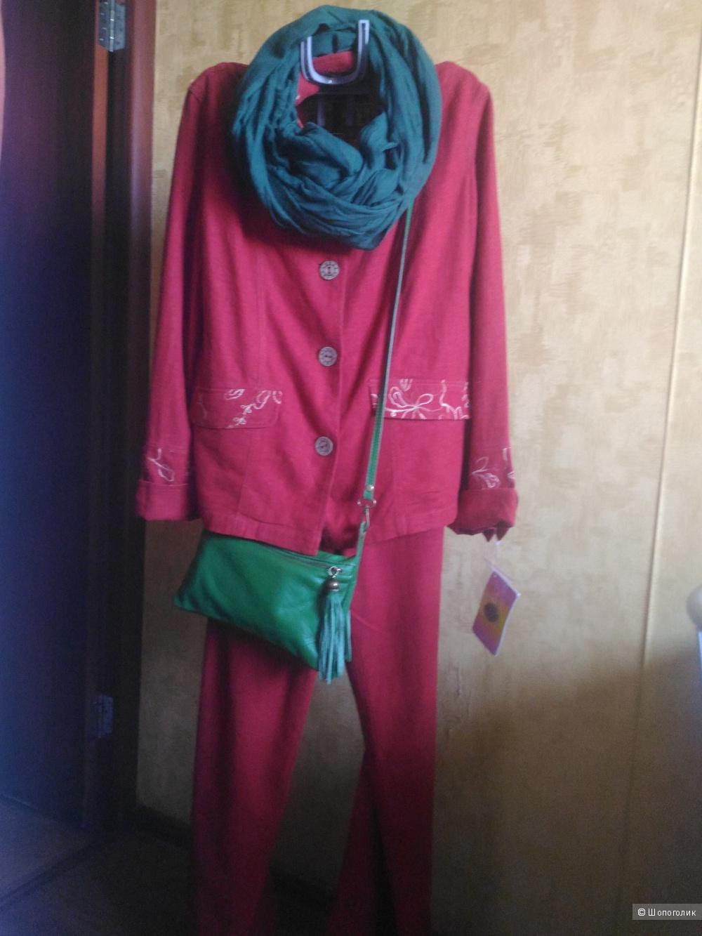 Льняной   костюм CITY  CLASSIC  50-52