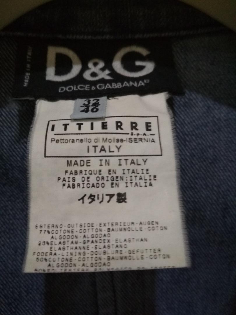 Пиджак D&G 46 IT