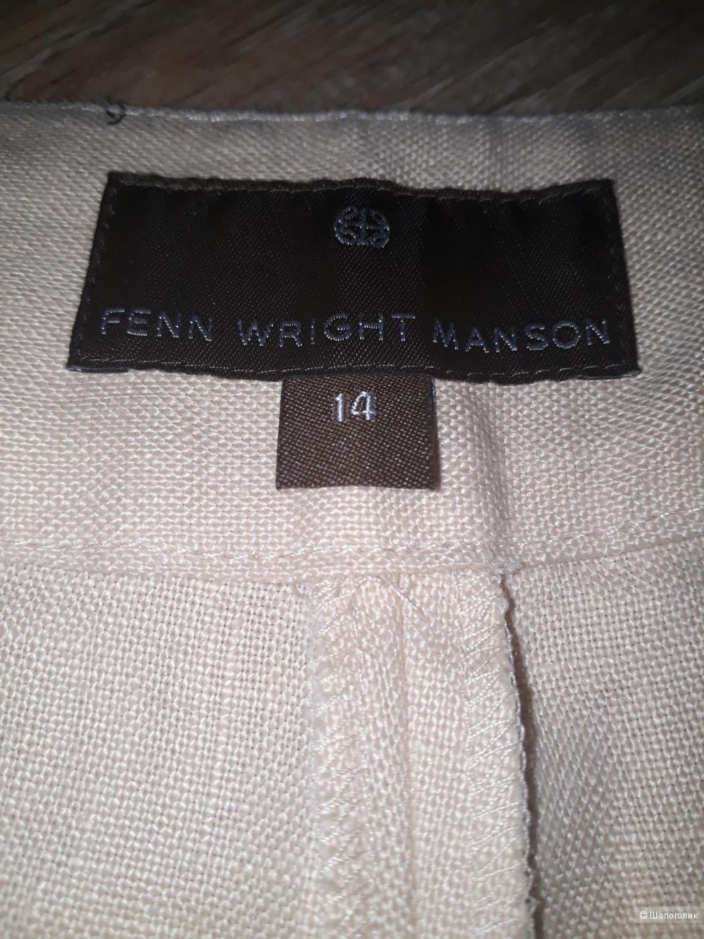 Брюки- паллацо fenn wright manson, размер 14