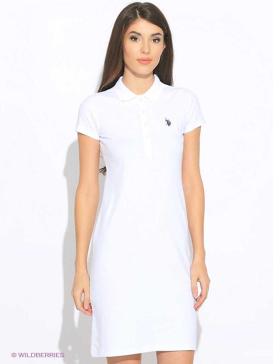 Платье-поло us polo assn  размер  L