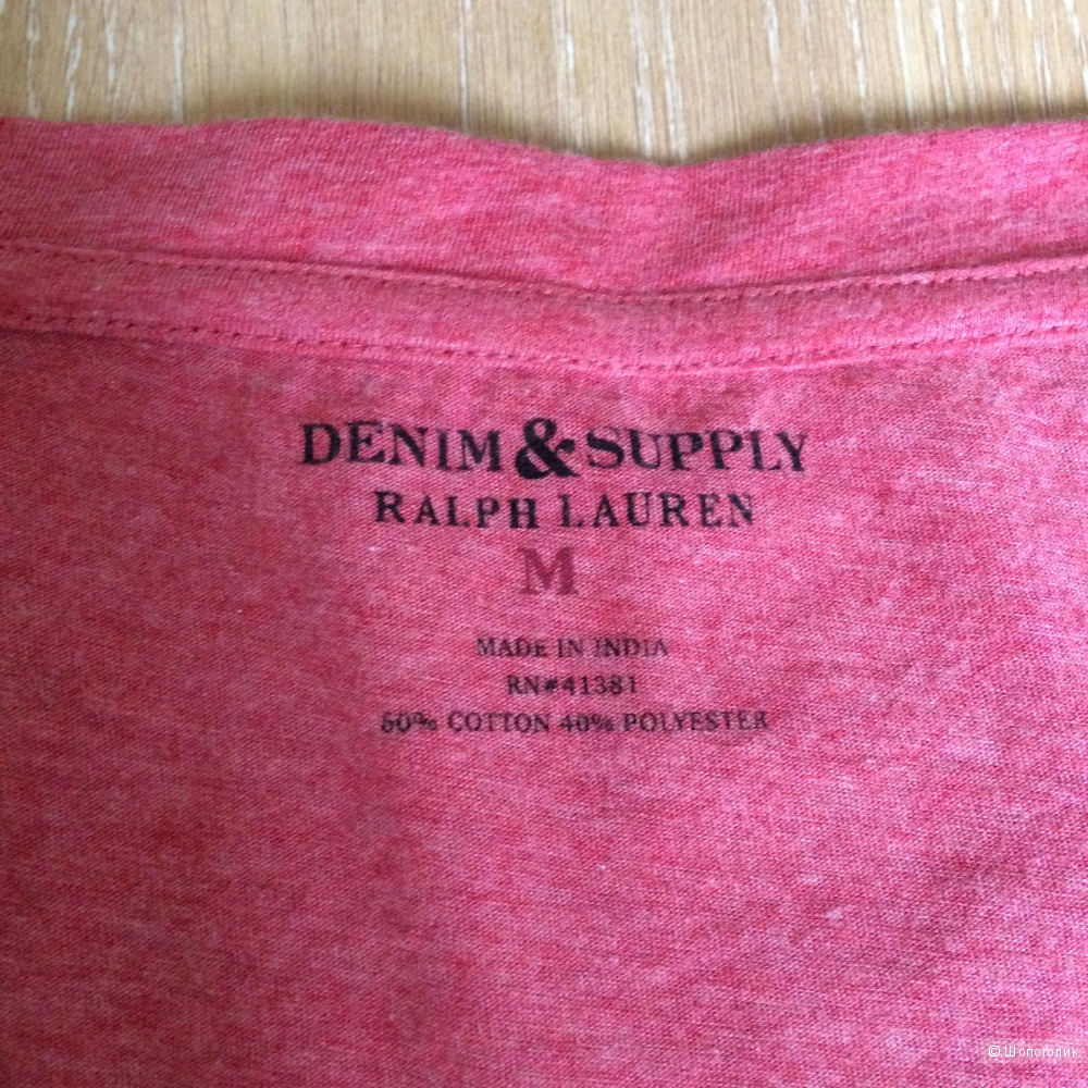 Футболка Denim&Supply Ralph Lauren, р-р М