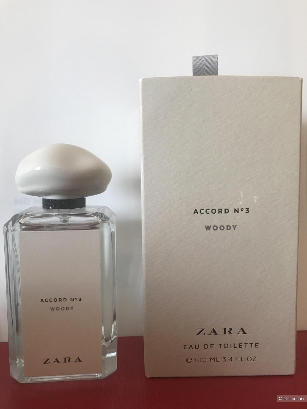 Туалетная вода Zara accord N3 Woody edt