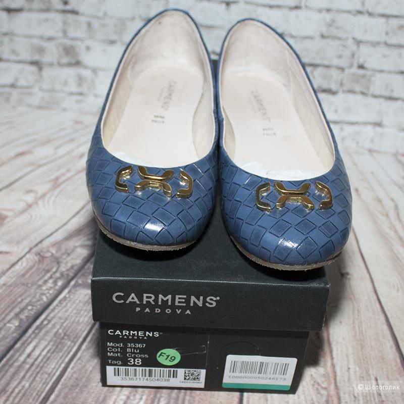 Балетки кожаные Carmens 37,5 - 38 размер