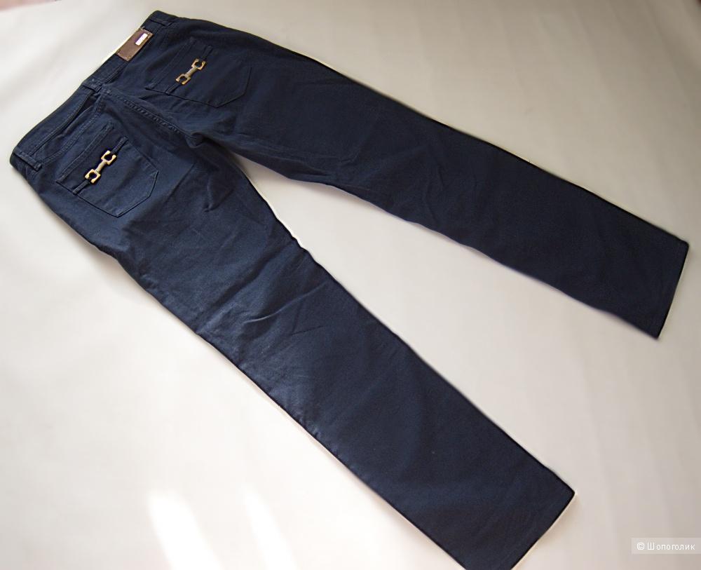 Джинсовые брюки trussardi jeans ~на 30 р-р.
