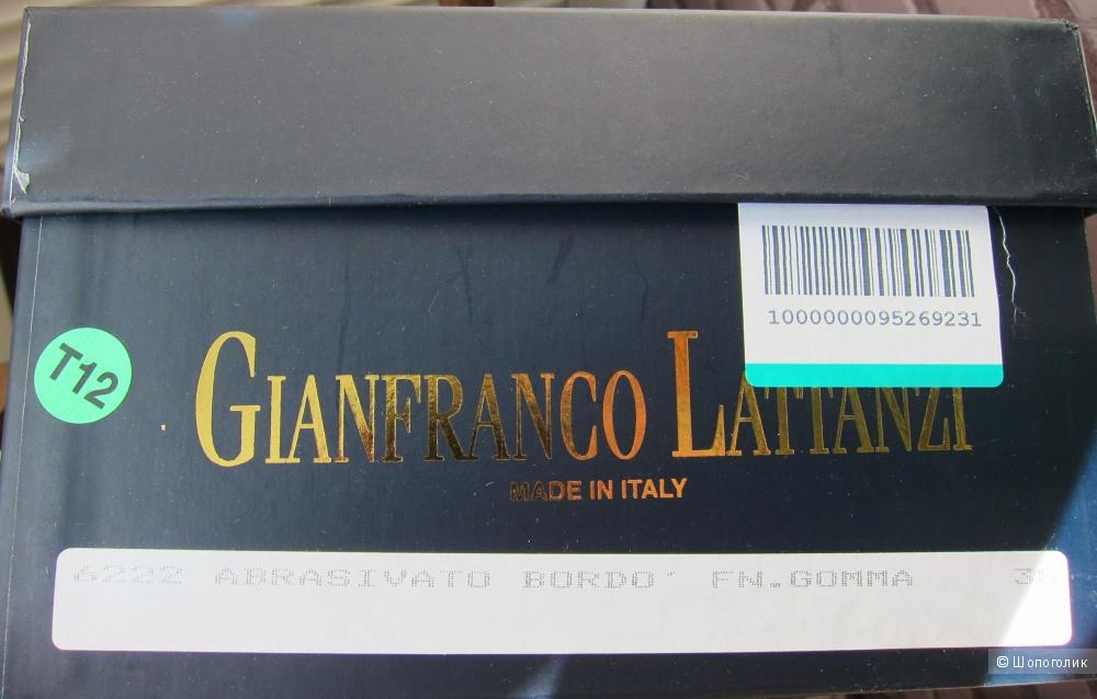 Итальянские кеды /сникерсы gianfranco lattanzi 38 р-р.