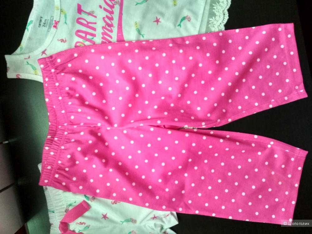 Пижама carter's 24мес