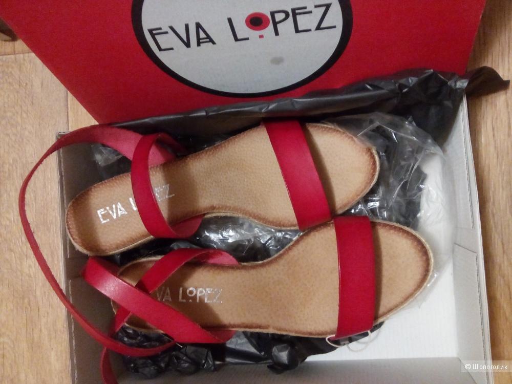 Босоножки   Eva Lopez, 40 (маломерка)