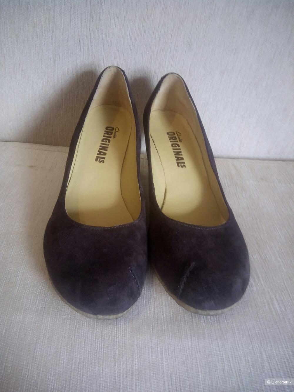Туфли Clark's, размер 39-39,5 (UK 6,5)
