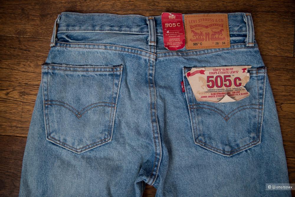 Джинсы Levi's 505 C размер 28