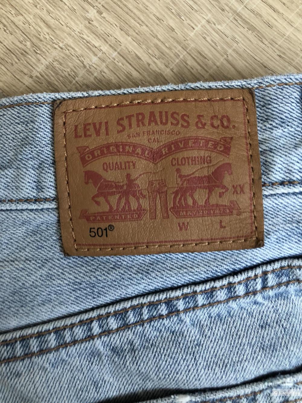 Шорты Levi's 501, размер 25