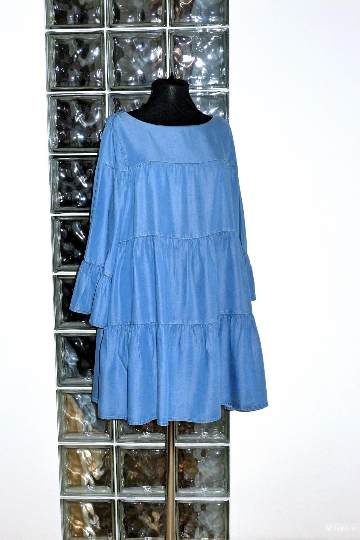 Платье деним ZARA размер S