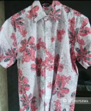 Guess: рубашка-гавайка, 50-52