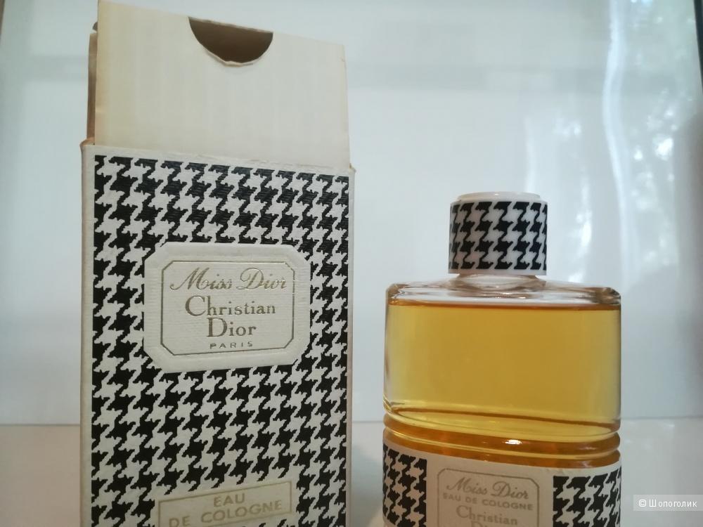 Полнообъемный флакон - Miss Dior Christian Dior 54 мл, винтаж, концентрация Колонь