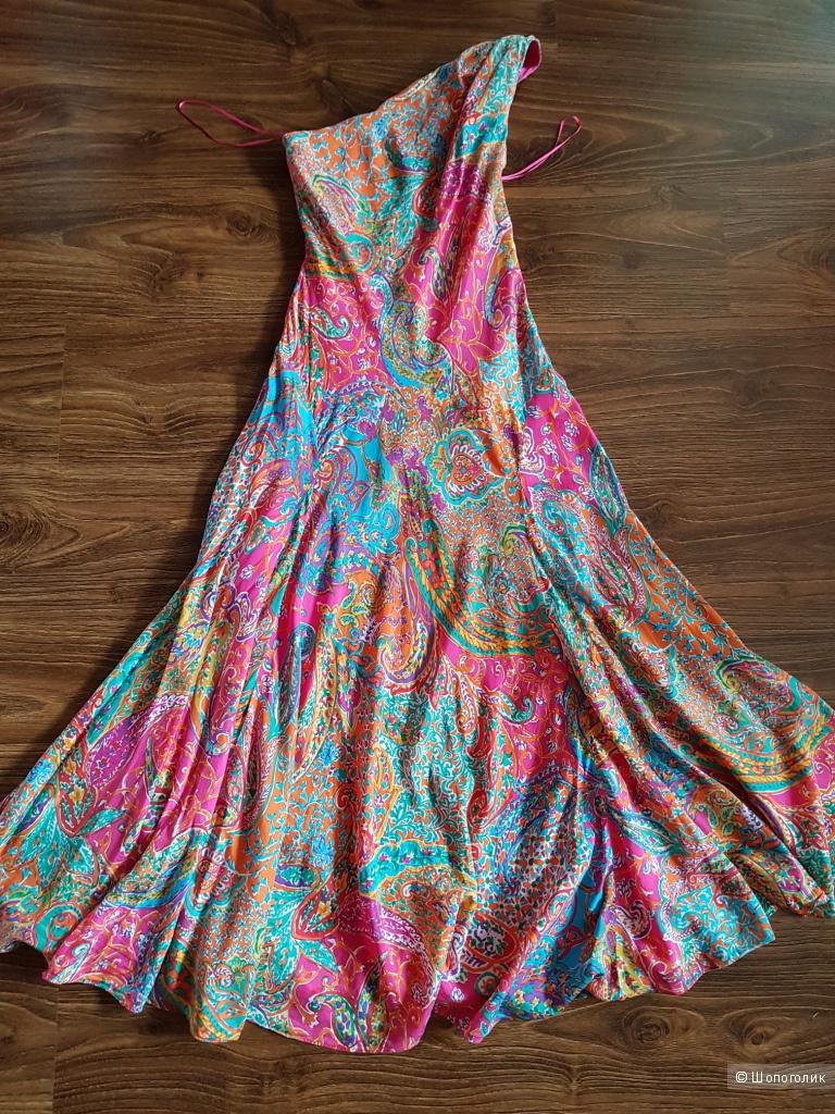 Ralph Lauren шелковое платье р.44