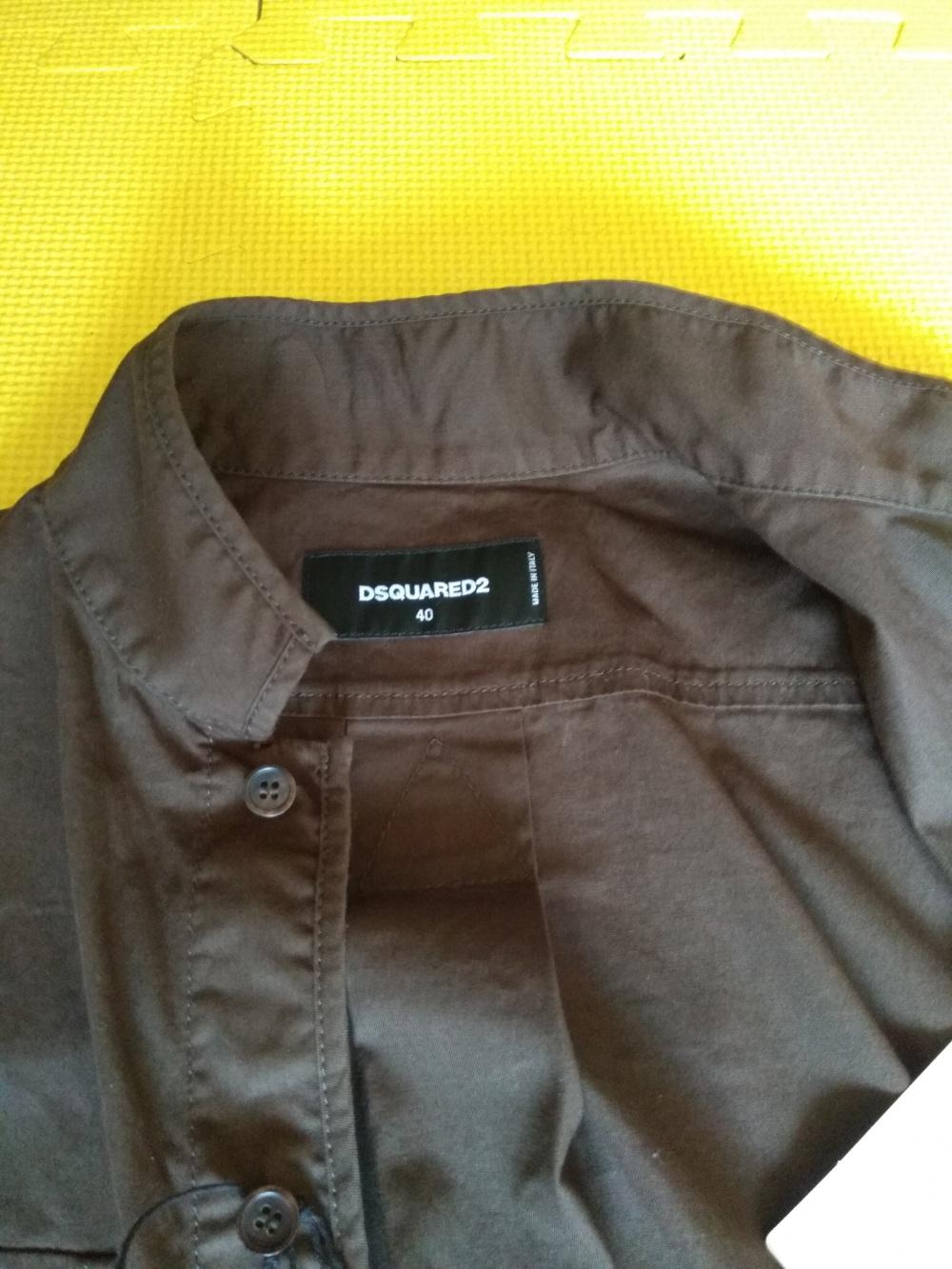 Рубашка DSQUARED2 40IT,42рус