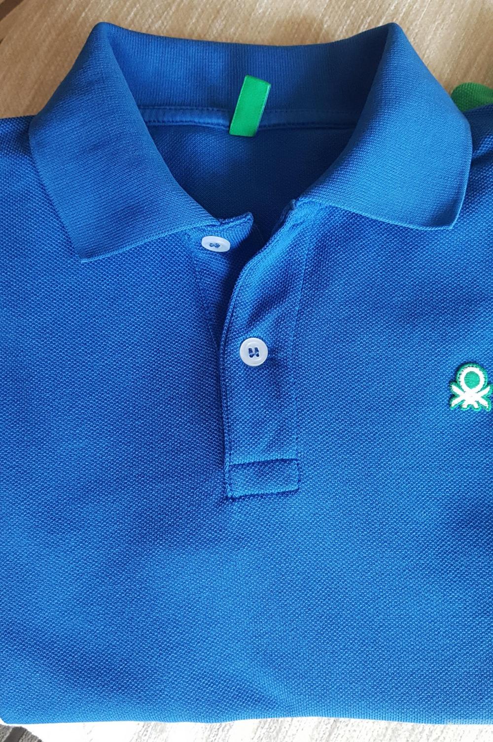 Сет 2 поло Benetton, размер 140