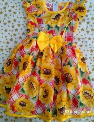 Платье для девочки.Размер 60. Children wear