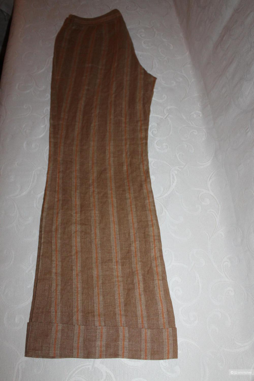 Льняные брюки-палаццо Luisa Cerano,размер нем. 40
