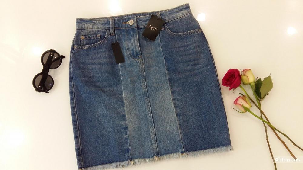 Джинсовая юбка Next, размер 44