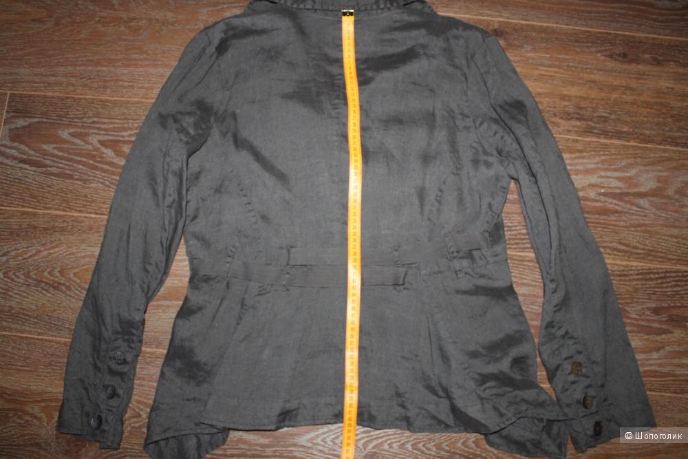 Льняной пиджак NILE в стиле бохо, размер XL