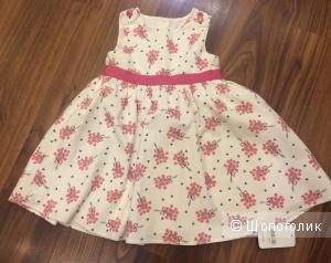 Платье Mothercare, размер 18-24 мес