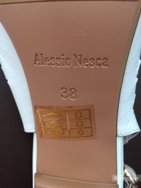 Кожаные босоножки Alessio Nesca 38 размер