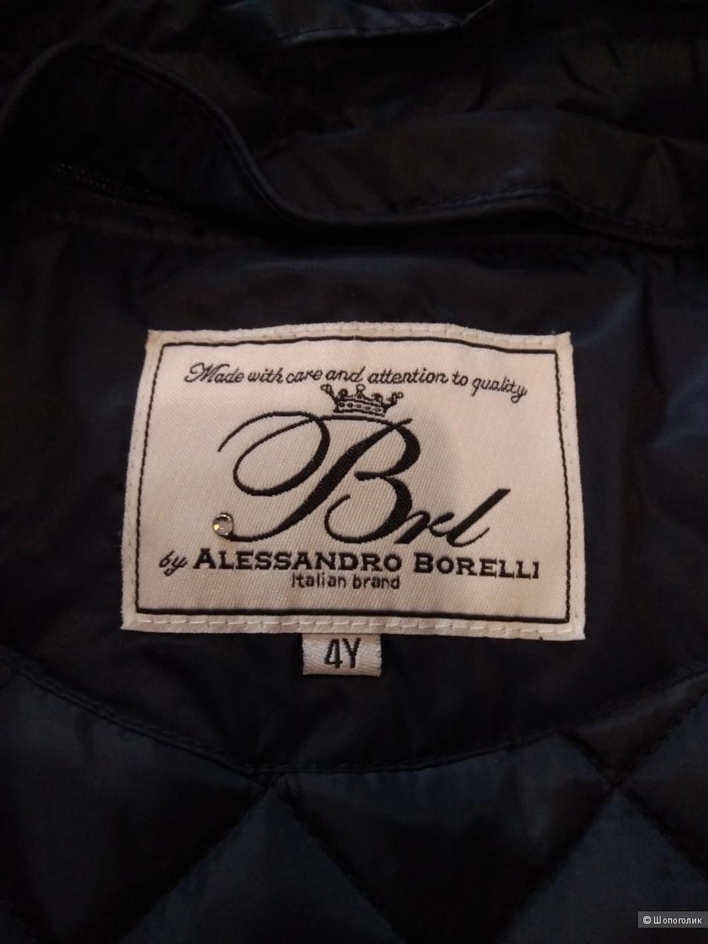 Плащ  утепленный Borelli размер 4Y