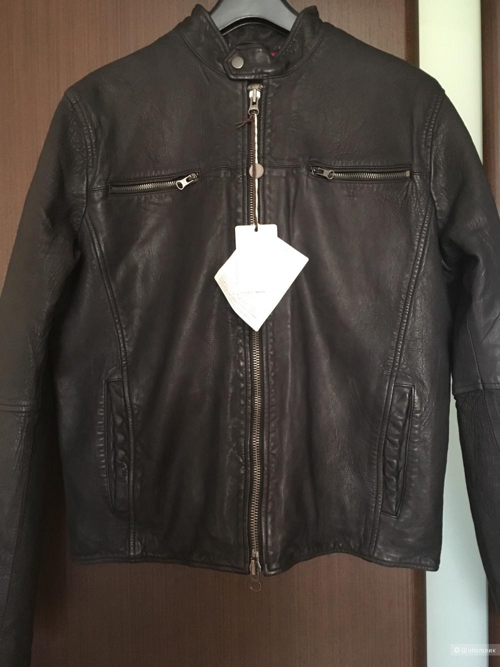 Кожаная куртка D'AMICO, 50it