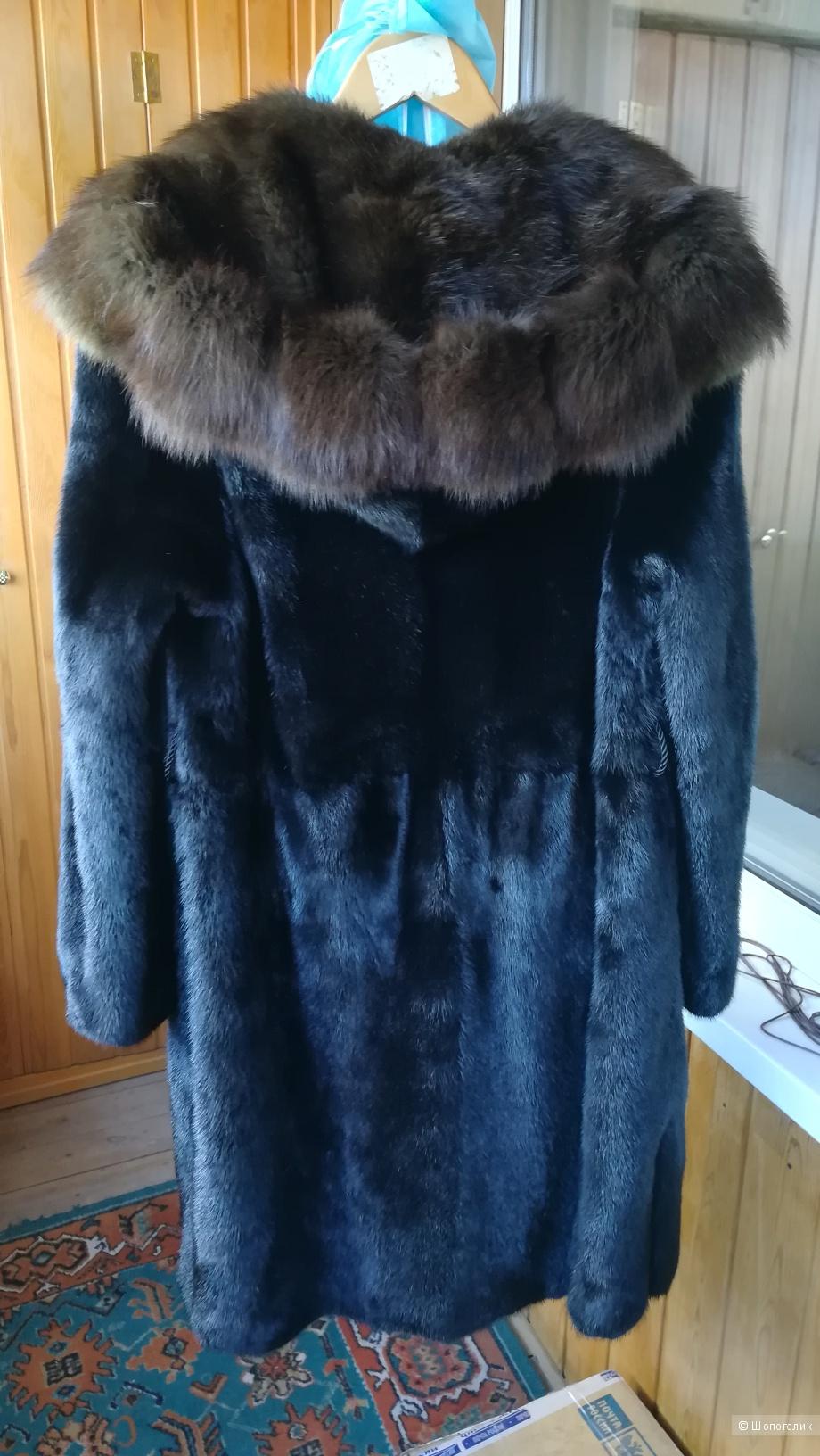 Норковая шуба Manzari 44-46 размер