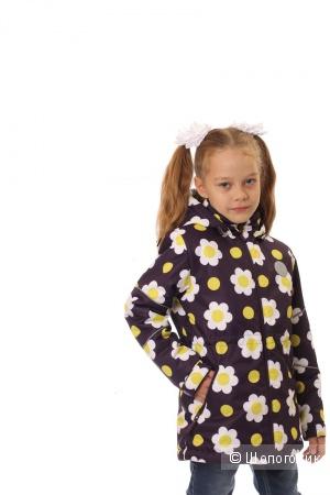 Куртка деми на девочку Sova 104р цвет фуксия! ярко-розовый