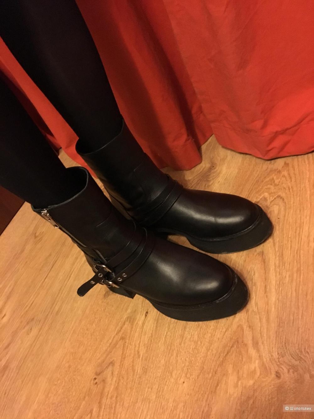 Ботинки Tervolina 39 размер