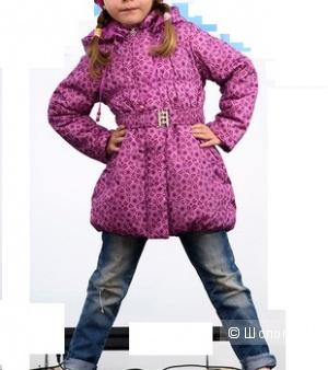 Пальто для девочки Sova деми 116р