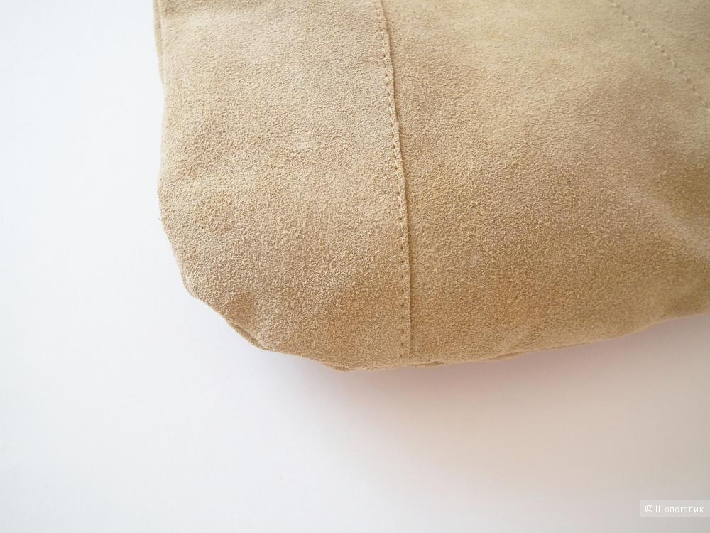 Замшевая сумка No name
