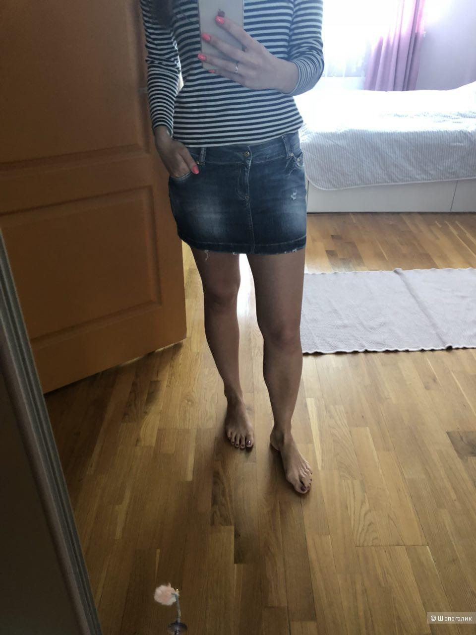 Мини-юбка CELYN b Elisabetta Franchi, размер М-L