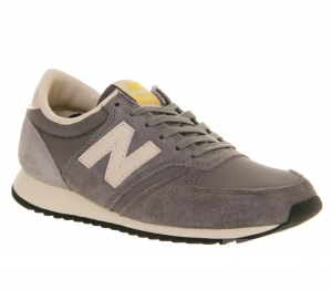 Кроссовки  New Balance 420 grey vintage trainers, размер 38,5