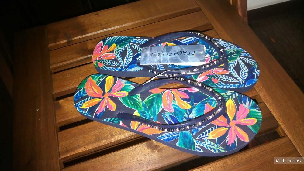 Пляжные шлепки Women'secret 37 размер
