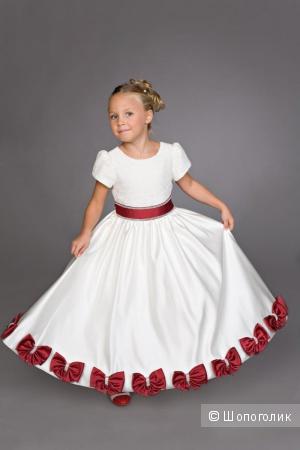 Платье праздничное Елена и К 134 и 140р
