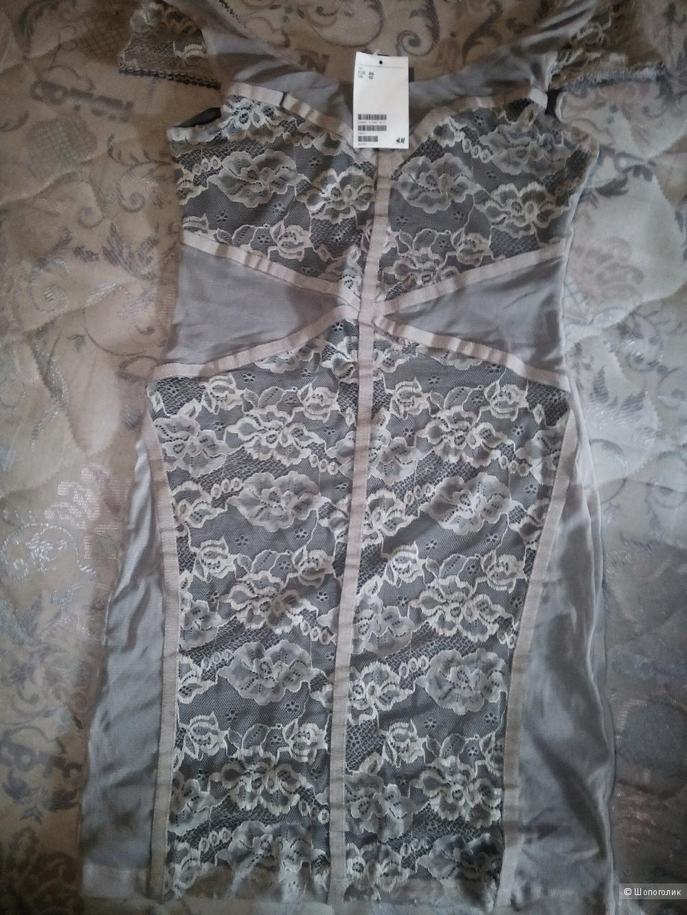 Платье Н&М  36 европейский ( 10 английский)